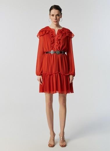 Monamoda Elbise Oranj